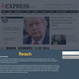 www.express.co.uk网站截图