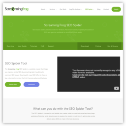 www.screamingfrog.co.uk的网站截图